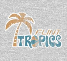 Flint Tropics Washed Retro One Piece - Long Sleeve