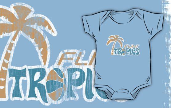 Flint Tropics Washed Retro by johnbjwilson