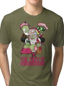 Invader Zim - The faces of doom Tri-blend T-Shirt