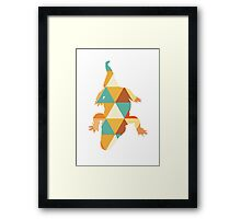 Reptile love Framed Print