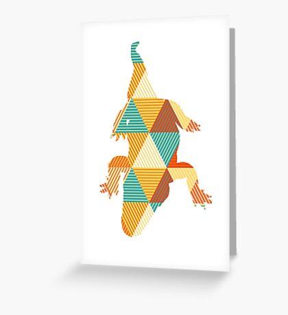 Reptile love Greeting Card