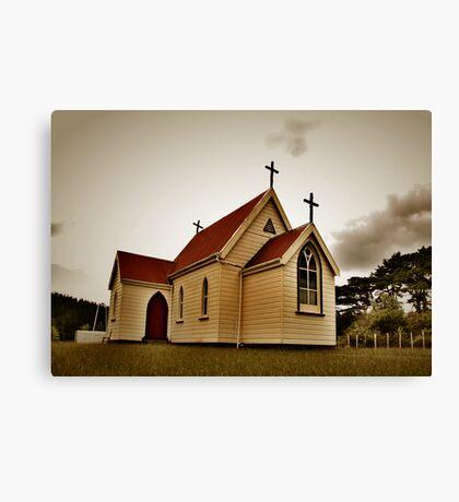 St Mary's Anglican Church, Mamaranui. Canvas Print