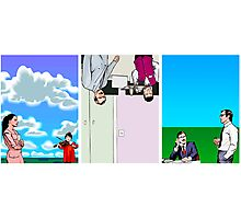 Surreal Triptych 1 Photographic Print