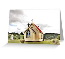 St Mary's Anglican Church, Mamaranui, NZ. Greeting Card