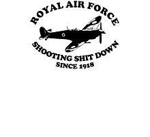 Royal Air Force Spitfire Photographic Print