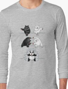 The fusion of panda  Long Sleeve T-Shirt