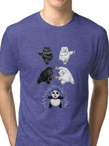 The fusion of panda  Tri-blend T-Shirt