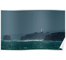 Bleak Weather, Aireys Inlet,Split Point Poster