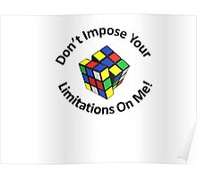 Don't Impose You Limitations On Me! Poster