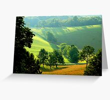 Down in the valley Greeting Card