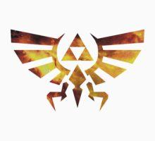 Galaxy Zelda Triforce Kids Tee