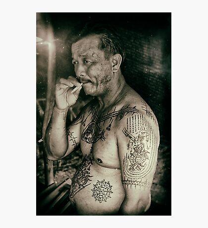 INK MAN Photographic Print