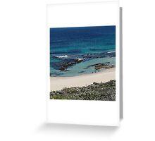 Mousetraps Reef at Yallingup Greeting Card