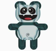 PANDA 3 Baby Tee