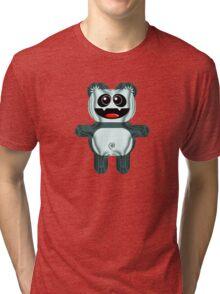 PANDA 3 Tri-blend T-Shirt