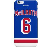 New York Rangers Dylan McIlrath Jersey Back Phone Case iPhone Case/Skin