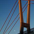 Walk Bridge Barwon River Geelong by Joe Mortelliti