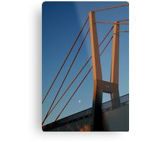 Walk Bridge Barwon River Geelong Metal Print