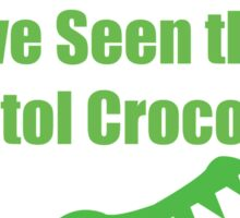 Bristol Crocodile Funny Urban Myth Sticker