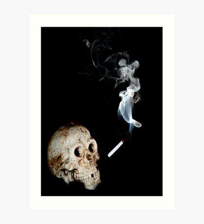 Smoke, Choke, Croak Art Print