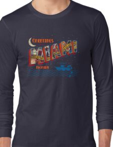 Greetings from Miami Long Sleeve T-Shirt