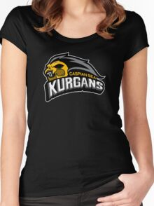 Kurgan Sports Logo Women's Fitted Scoop T-Shirt
