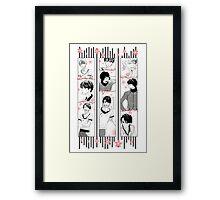 SHISHIO SENSEI Framed Print
