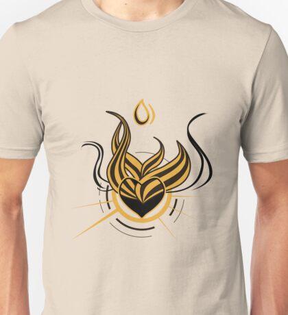 Black Heart Unisex T-Shirt