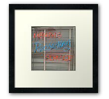 Memphis Recording Service Framed Print