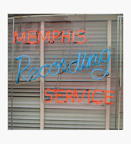 Memphis Recording Service Photographic Print