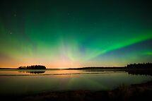 Northern Lights - Elk Island National Park (Edmonton, AB Canada) by camfischer
