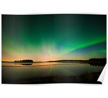 Northern Lights - Elk Island National Park (Edmonton, AB Canada) Poster