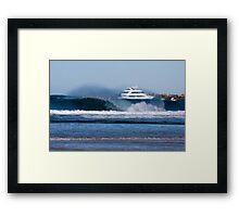 Sea World Cruisers Framed Print
