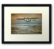 Catalina Flying Boat Framed Print