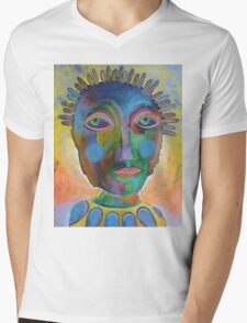 A Long Hard Look At Yourself Mens V-Neck T-Shirt