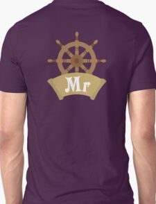 Mr and Mrs MISTER Wedding Honeymoon Cruise Just Married T-Shirt