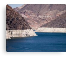 Lake Mead 2011 Canvas Print