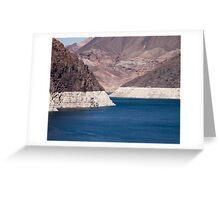 Lake Mead 2011 Greeting Card