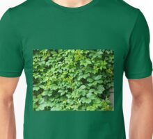 Wallpaper from leaves of grapes Unisex T-Shirt