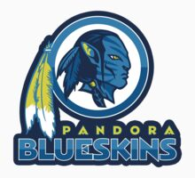 Pandora Blueskins - STICKERS by WinterArtwork