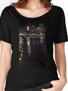 MELBOURNE CITY - NIGHT Women's Relaxed Fit T-Shirt