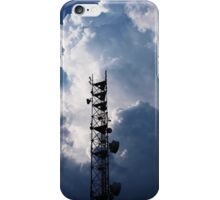 Antenna and thunderclouds iPhone Case/Skin