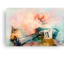 Sunset Mood Canvas Print