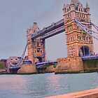 England - London Bridge by artstoreroom