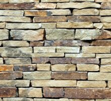 Stone wall Sticker