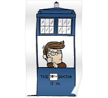 Doctor Who in Peanuts  Poster