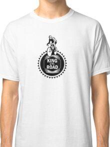 Retro Style Mens Racing Bike Road Touring Cycling Logo  Classic T-Shirt