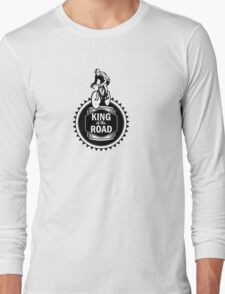 Retro Style Mens Racing Bike Road Touring Cycling Logo  Long Sleeve T-Shirt