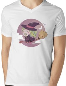 Candy Witch Mens V-Neck T-Shirt