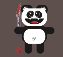 PANDA 2 (Cute pet with a sharp knife!) by peter chebatte